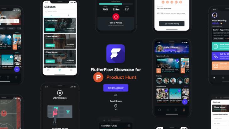 FlutterFlowが 2.0へ プッシュ通知等が実装可能に。